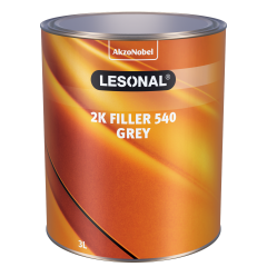 Lesonal 2K Filler 540 Grey 3L