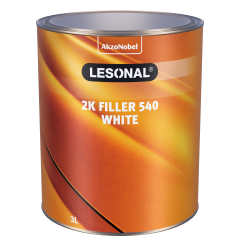 Lesonal 2K Filler 540 White 3L