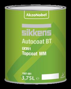 Sikkens Autocoat BT LV 351 TC MM B315 Djupsvart 3519-001 3.75L