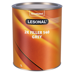 Lesonal 2K Filler 540 grey (gris) 1L