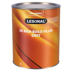 Lesonal 2K High Build Filler Grey 1L