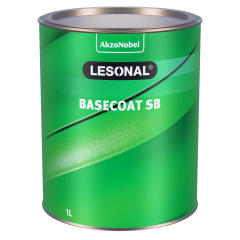 Lesonal Basecoat SB 72 MM Orange Red Transparent 1L