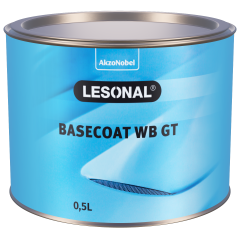Lesonal Basecoat WB GT 62 - bright yellow 0.5L
