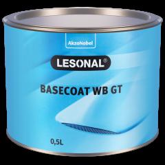 Lesonal Basecoat WB GT 91X effet argent, moyen 0.5L