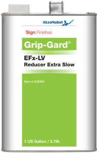 Sign Finishes EFx-LV Reducer Extra Slow 1 US Gallon