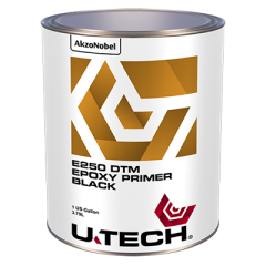 U-TECH E250 DTM Black Epoxy Primer 1 US Gallon