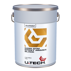 U-TECH E250 DTM Black Epoxy Primer 5 US Gallons