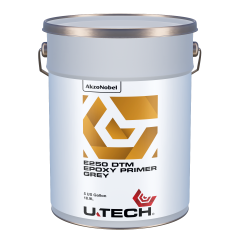 U-TECH E250 DTM Grey Epoxy Primer 5 US Gallons