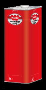 Wanda 120 Thinner Rapid szybki 5L