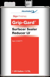 Sign Finishes Grip-Gard Surfacer Sealer Reducer LV 1 US Gallon