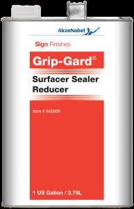 Sign Finishes Grip-Gard Surfacer Sealer Reducer 1 US Gallon