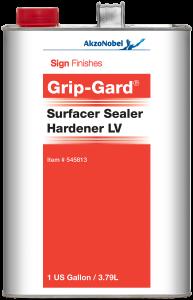 Sign Finishes Grip-Gard Surfacer Sealer Hardener LV 1 US Gallon