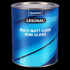 Lesonal Multi Matt Clear Semi Gloss 1L