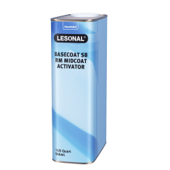 Lesonal Basecoat SB Ready Mix Mid-Coat Activator 1 US Quart