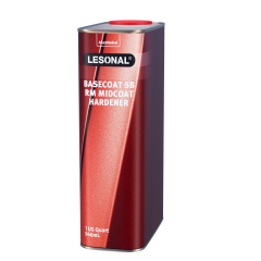 Lesonal Basecoat SB Ready Mix Mid-Coat Hardener 1 US Quart