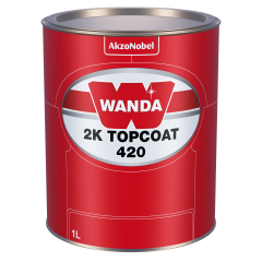 Wanda 2K Topcoat 420 42-36 Red (orange) 1L