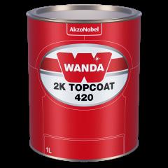 Wanda 2K Topcoat 420 42-20 Orange (red) 1L