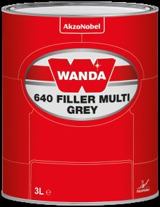 Wanda 640 Filler Multi Grey 3 L