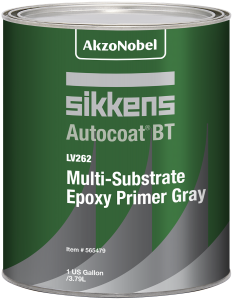 Sikkens Autocoat BT LV262 Multi-Substrate Epoxy Primer Grey 1 US Gallon