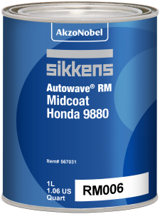 Sikkens Autowave RM Midcoat Honda 9880 1 Liter
