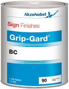Sign Finishes Grip-Gard BC 90 Binder Interior Satin 1 US Gallon