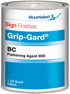 Sign Finishes Grip-Gard BC Flattening Agent 890 1 US Quart