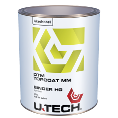 U-TECH DTM Topcoat High Gloss Binder 3.75L