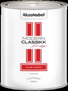 Modern Classikk Killer Tomato Waterborne 1 US Quart