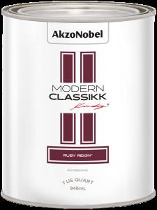 Modern Classikk Ruby Reign® Waterborne 1 US Quart