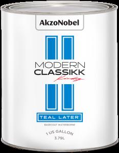 Modern Classikk Teal Later Waterborne 1 US Gallon