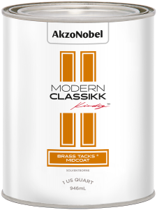 Modern Classikk Brass Tacks® Midcoat (Requires Brass Tacks® Groundcoat) Solventborne 1 US Quart