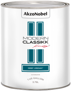 Modern Classikk Deep Viridian Waterborne 1 US Gallon