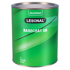 Lesonal Basecoat SB 93P Red (Orange) Pearl 1L