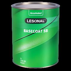 Lesonal Basecoat SB 90CH Yellow (Orange) Metallic 1L