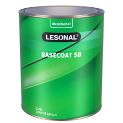 Lesonal Basecoat SB 14 White High Strength 3.75L