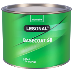 Lesonal Basecoat SB 307YA SEC Gold to Silver 500ml