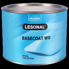 Lesonal Basecoat WB 308NF SEC Fine Sparkling Silver 500ml