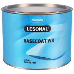 Lesonal Basecoat WB 55 Green (Yellow) Transparent 500ml