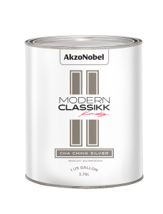 Modern Classikk Cha Ching Silver Midcoat (Requires Black Groundcoat) Solventborne 1 US Gallon