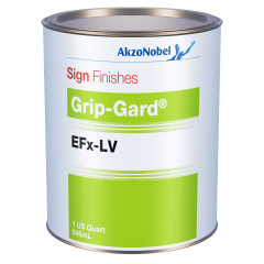 Sign Finishes Grip-Gard EFx-LV B617 Mixing Black Transparent 1 US Quart